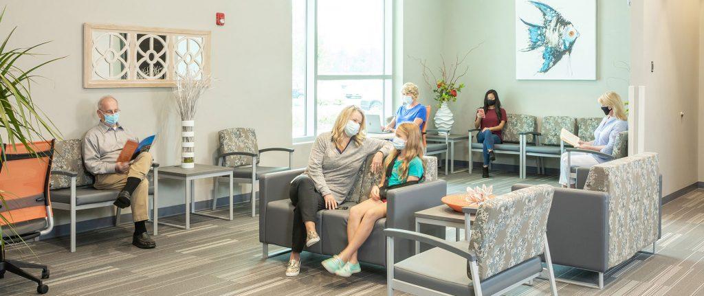 Brunswick Surgery Center Reception Area / WaitingRoom